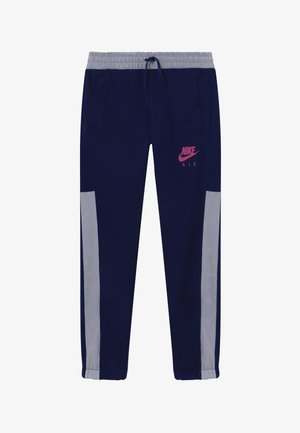 Tracksuit bottoms - blue void/white/fire pink