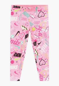 Nike Sportswear - SCRIBBLE PRINT - Leggings - pink - 0