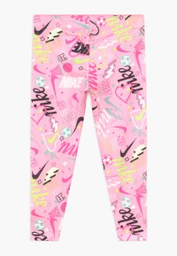 Nike Sportswear - SCRIBBLE PRINT - Leggings - pink - 1
