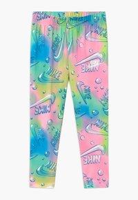 Nike Sportswear - AIR BUBBLE ANKLE CROP - Leggings - Trousers - pink - 0