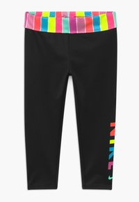 Nike Sportswear - STRIPE ANKLE CROP - Legging - black - 0