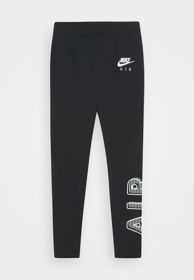 AIR FAVORITES - Leggings - Trousers - black/white