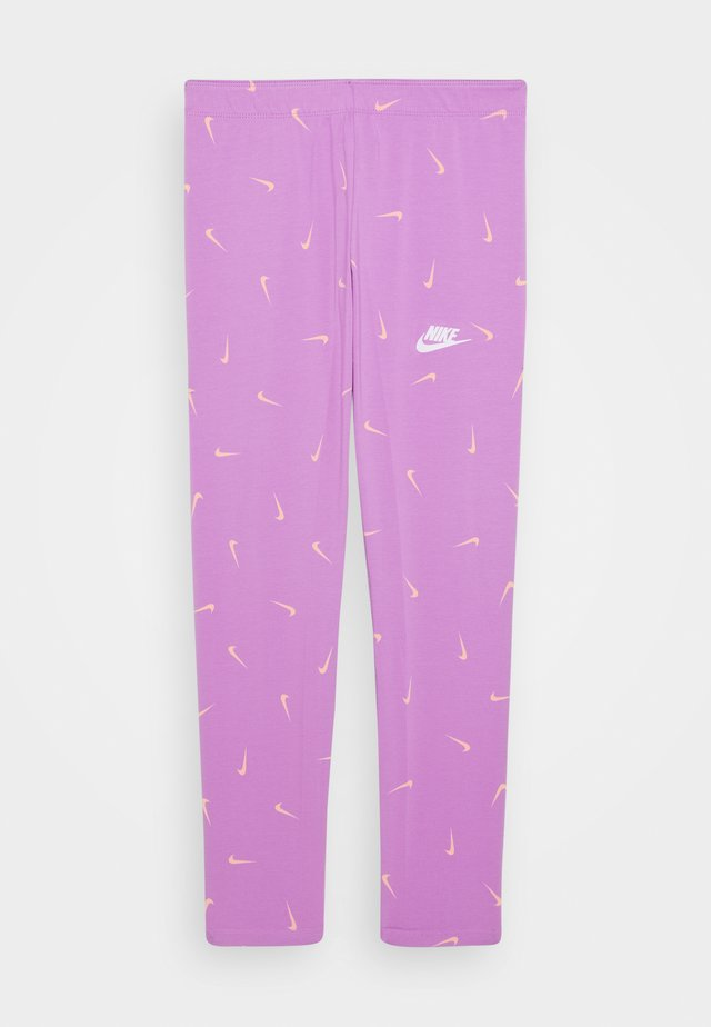 FAVORITES - Leggings - Trousers - violet star/white