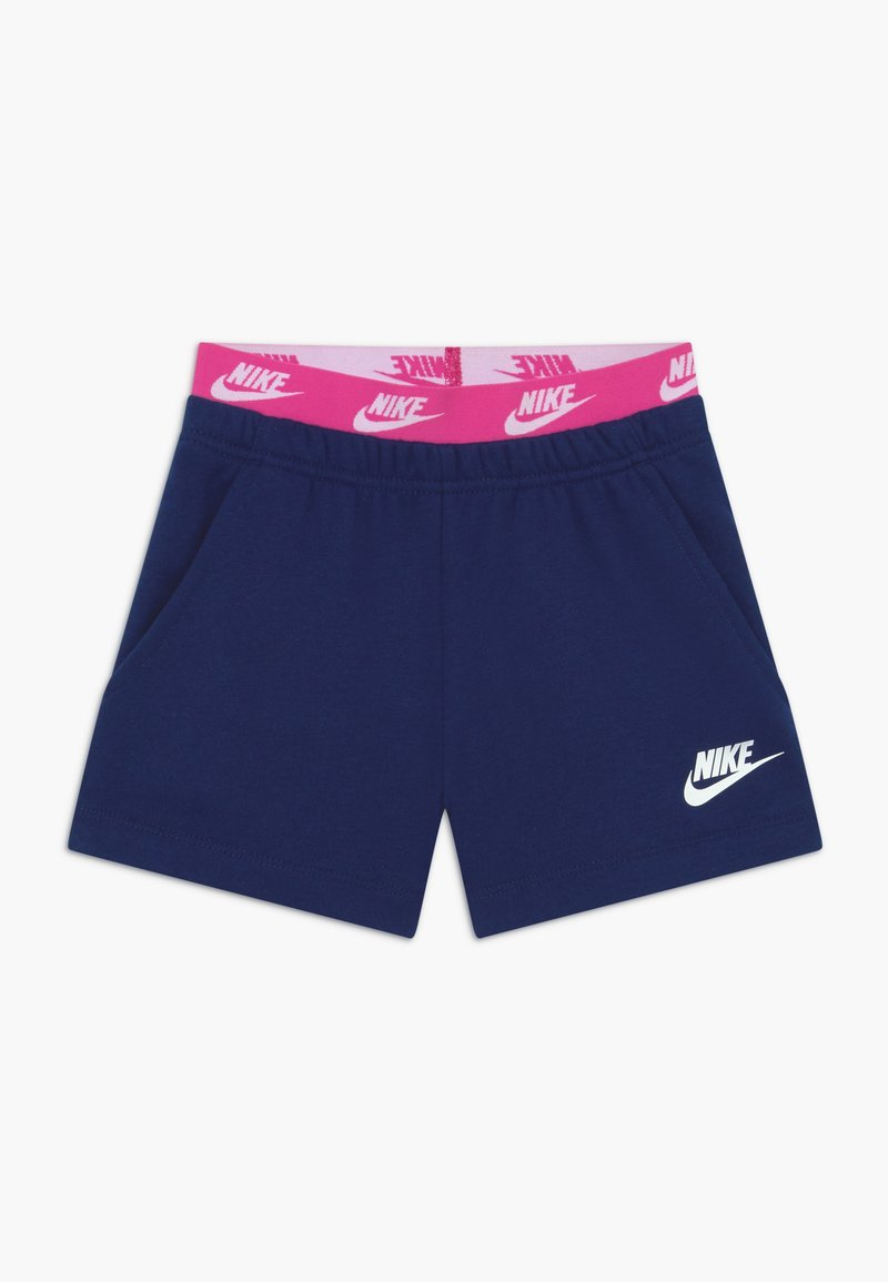 Nike Sportswear - GIRLS FRENCH TERRY - Tracksuit bottoms - blue void