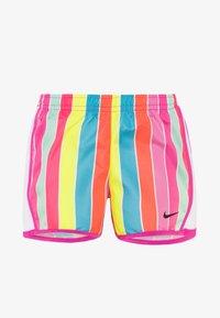 Nike Sportswear - STRIPE TEMPO - Träningsbyxor - fire pink - 0