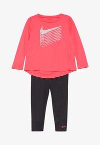Nike Sportswear - SHINE BABY SET - Trainingspak - dark grey - 3