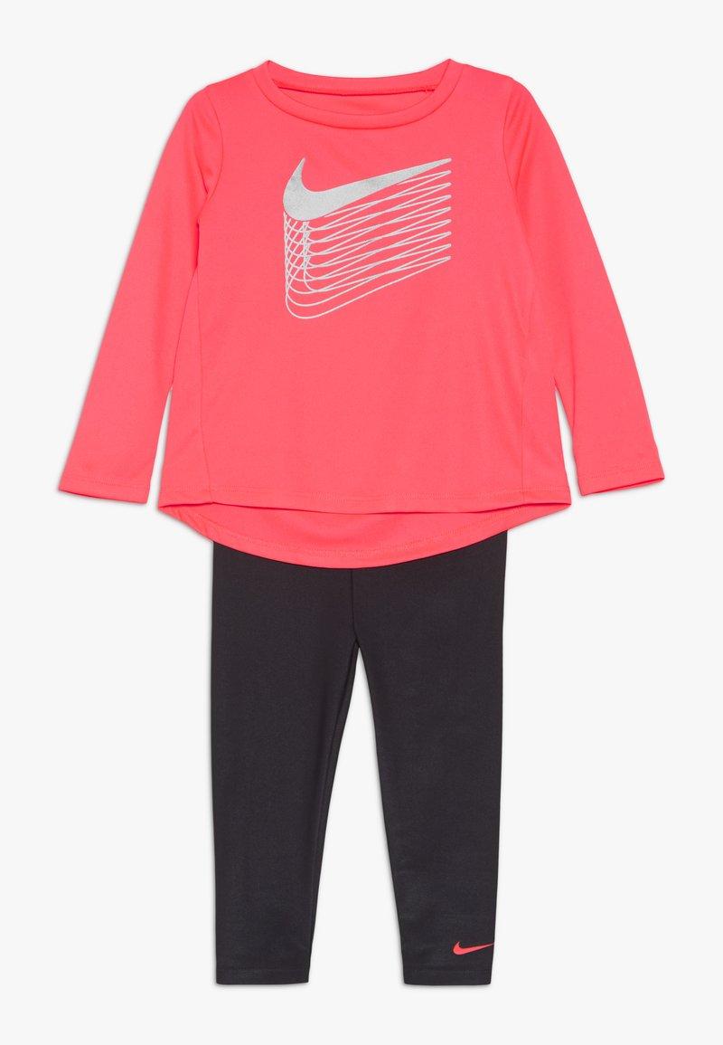 Nike Sportswear - SHINE BABY SET - Trainingspak - dark grey
