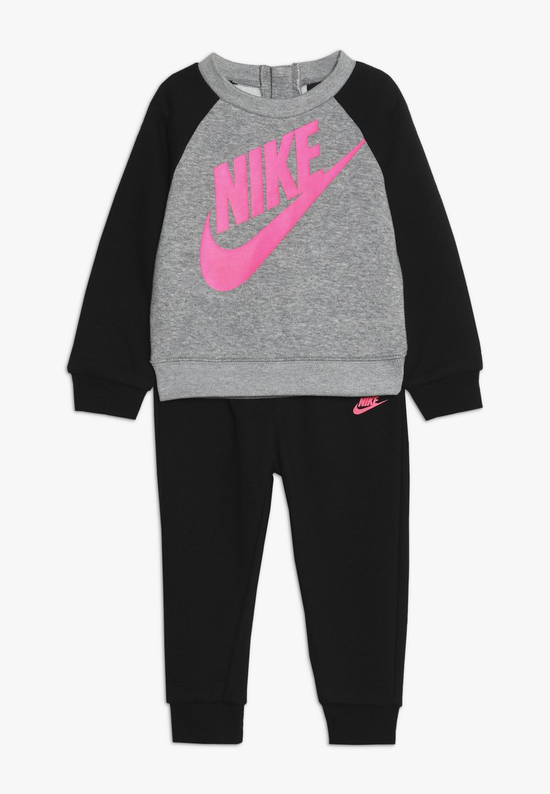 Nike Sportswear - CREW PANT BABY SET - Felpa - black