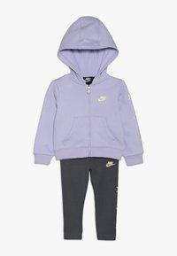 Nike Sportswear - AIR BABY SET - Tepláková souprava - dark grey - 0