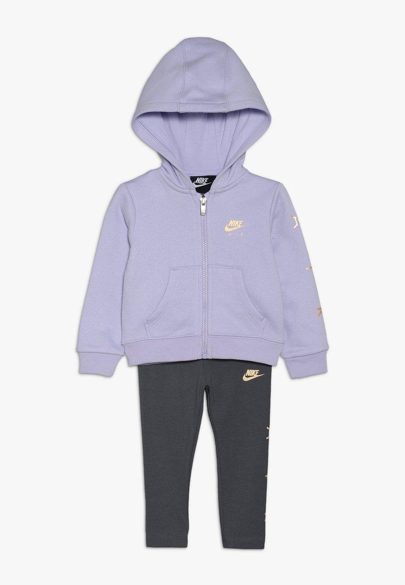 Nike Sportswear - AIR BABY SET - Sudadera con cremallera - dark grey