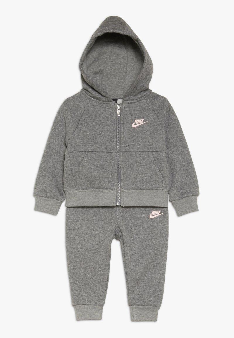 Nike Sportswear - PANT BABY SET - Zip-up hoodie - carbon heather