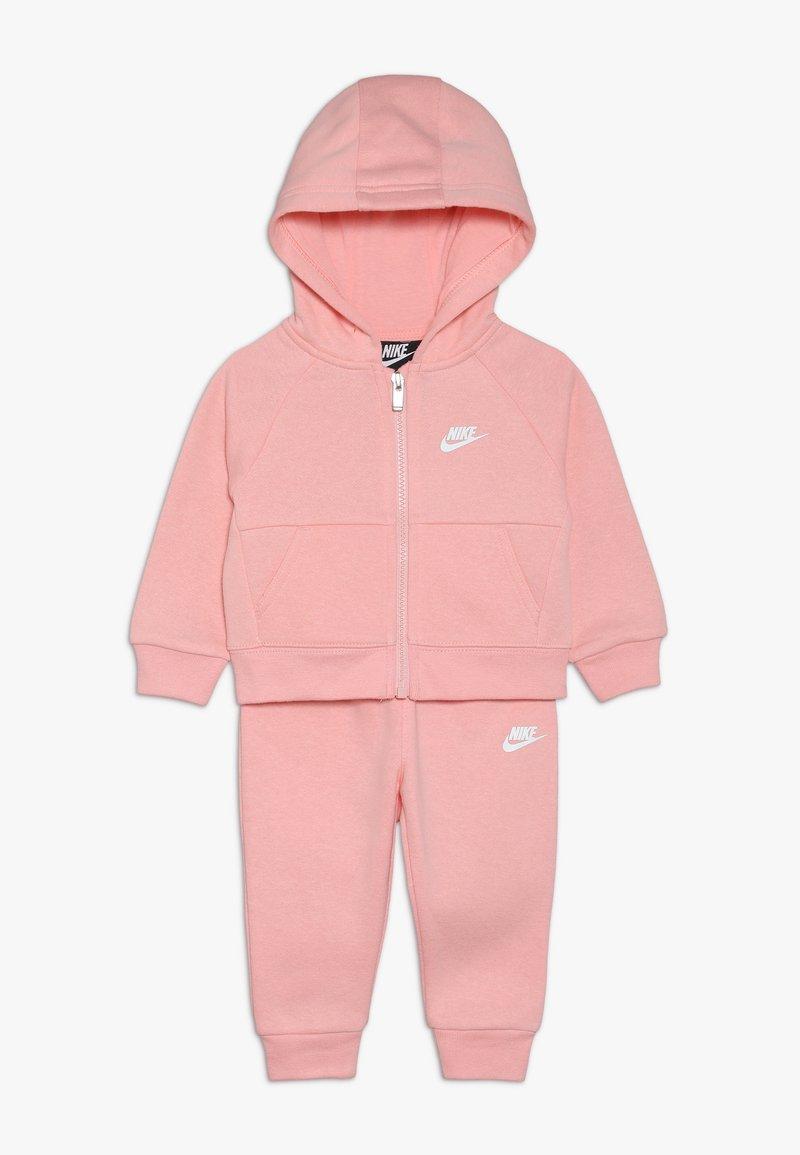 Nike Sportswear - PANT BABY SET - Sweatjacke - echo pink