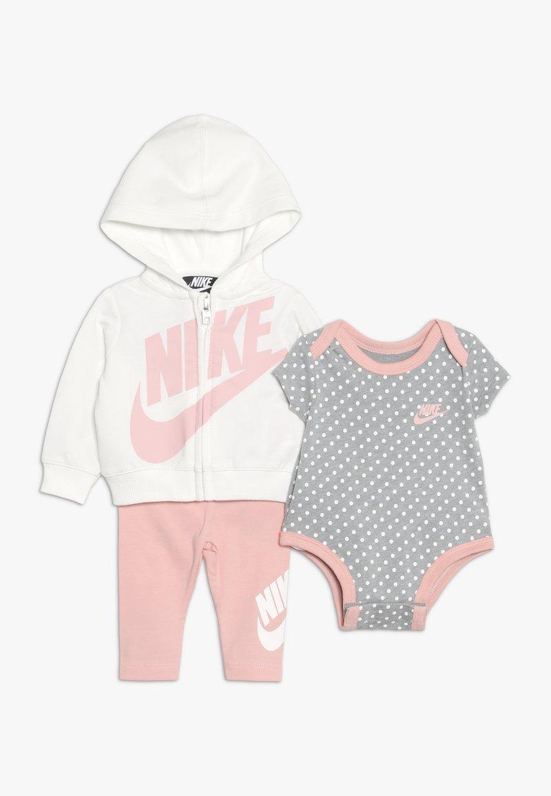 Nike Sportswear - FUTURA BABY SET - Sudadera con cremallera - bleached coral