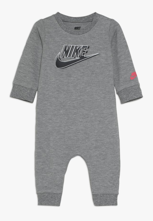 SPARKLE COVERALL BABY - Mono - dark grey heather