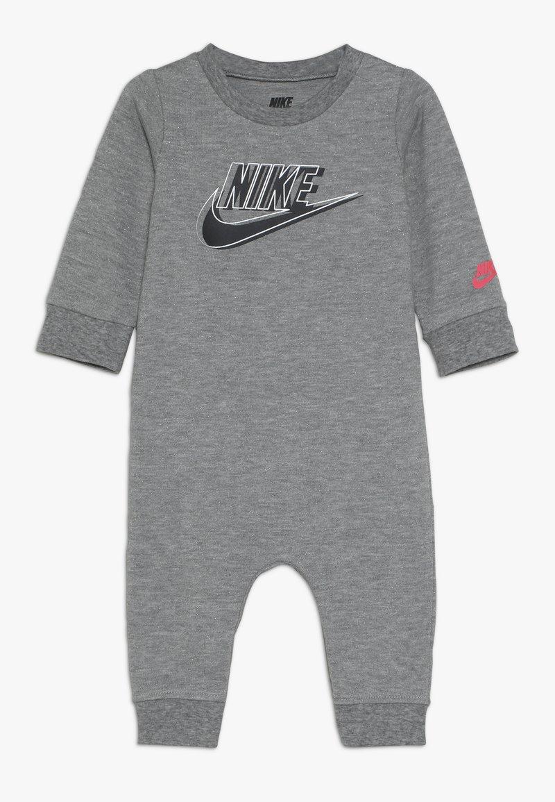 Nike Sportswear - SPARKLE COVERALL BABY - Jumpsuit - dark grey heather