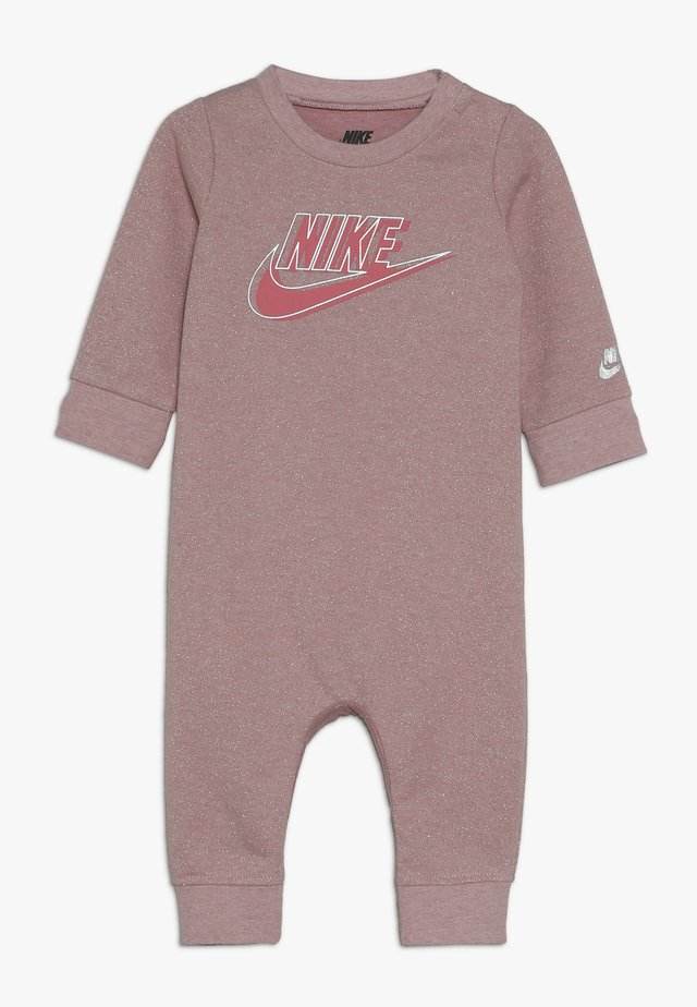 SPARKLE COVERALL BABY - Mono - bleached coral heather