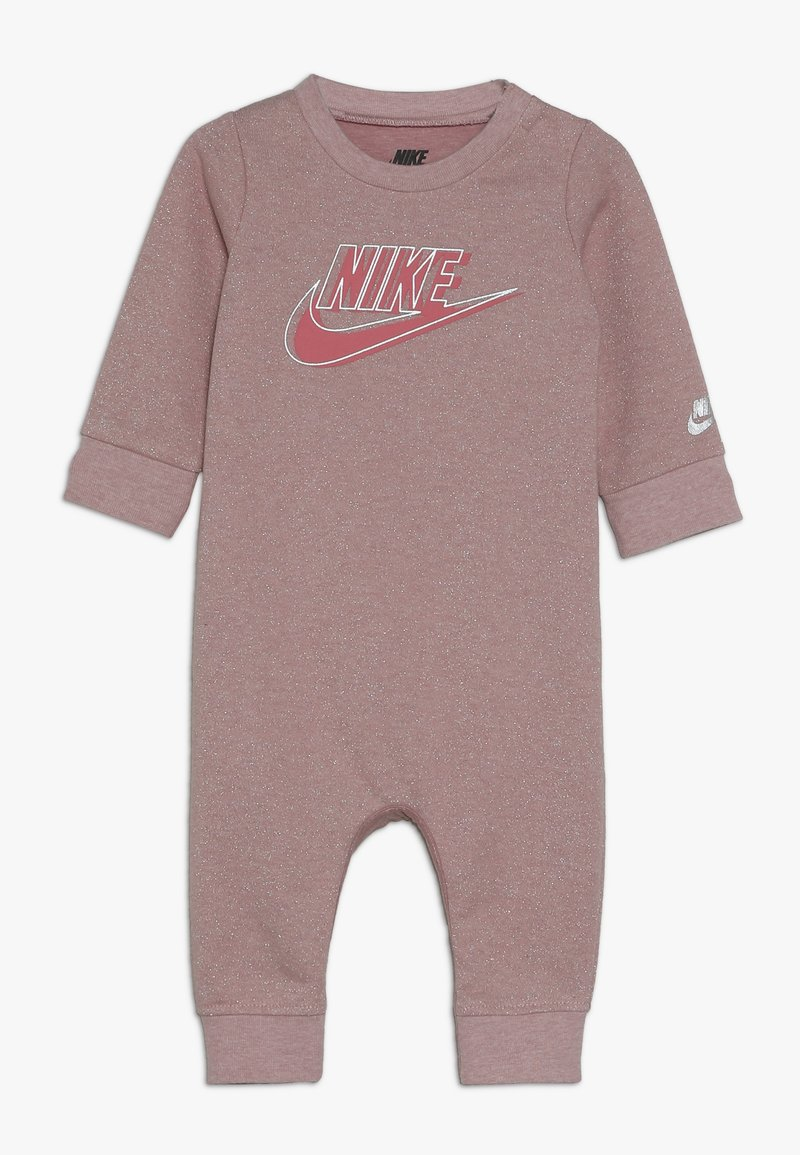 Nike Sportswear - SPARKLE COVERALL BABY - Kombinezon - bleached coral heather