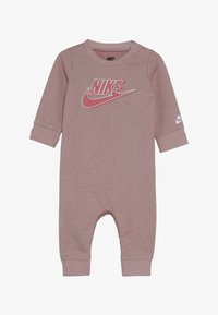 Nike Sportswear - SPARKLE COVERALL BABY - Kombinezon - bleached coral heather - 3