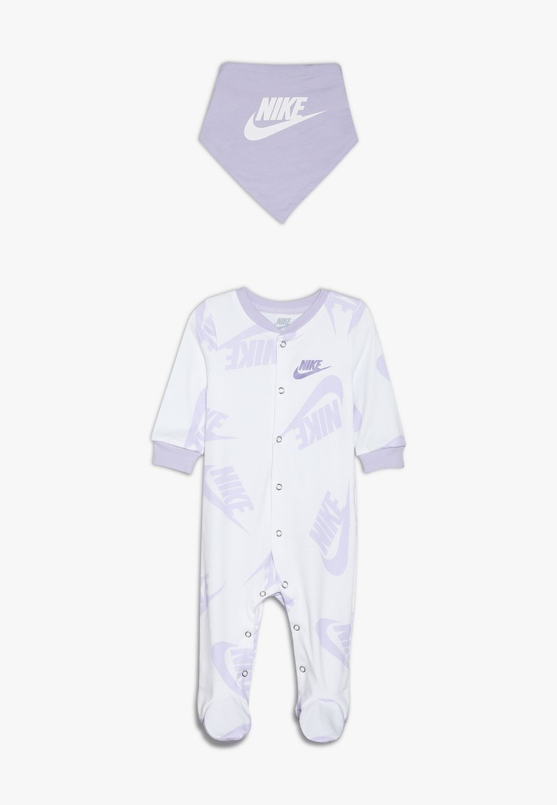 Nike Sportswear - FOOTED COVERALL BIB BABY SET - Skjerf - white