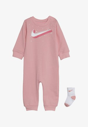 GRAPHIC COVERALL SOCK BABY SET - Kombinezon - bleached coral