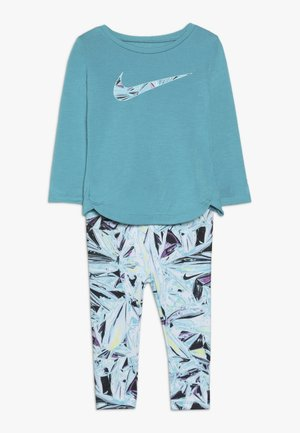 TUNIC MYLAR SWIRL BABY SET - Chándal - turquoise