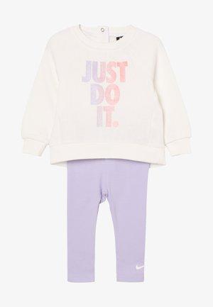 JDI TUNIC CREW BABY SET - Trainingsanzug - lavender mist