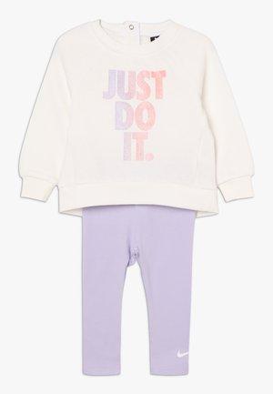 JDI TUNIC CREW BABY SET - Chándal - lavender mist