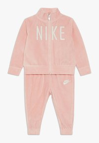 Nike Sportswear - SHINE TRACK BABY SET  - Tracksuit - bleached coral - 0