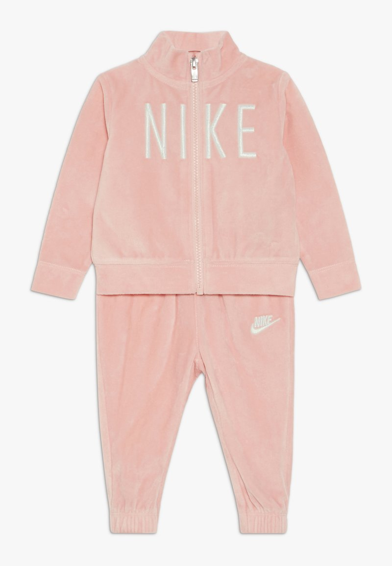 Nike Sportswear - SHINE TRACK BABY SET  - Tracksuit - bleached coral