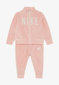Nike Sportswear - SHINE TRACK BABY SET  - Tracksuit - bleached coral - 3
