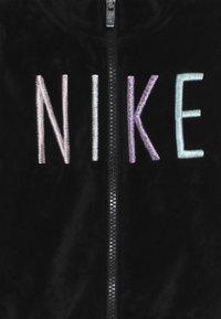 Nike Sportswear - SHINE TRACK BABY SET  - Trainingspak - black - 5