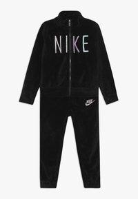 Nike Sportswear - SHINE TRACK BABY SET  - Trainingspak - black - 0
