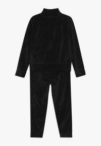 Nike Sportswear - SHINE TRACK BABY SET  - Trainingspak - black - 1
