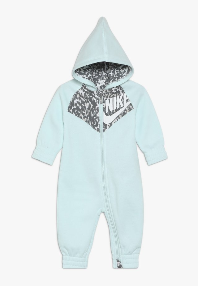 LEOPARD COVERALL BABY - Overall / Jumpsuit - teal tint