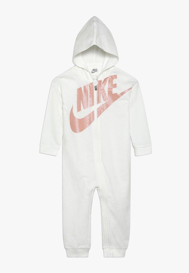 Nike Sportswear - SPARKLE FUTURA COVERALL BABY - Overal - sail