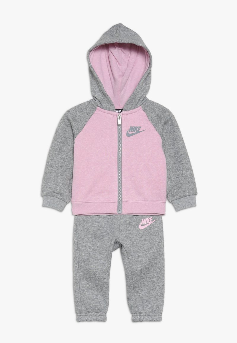Nike Sportswear - BABY SET - Sweatjacke - grey heather
