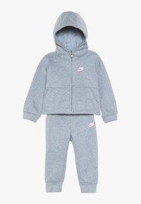 Nike Sportswear - PANT BABY SET - Träningsset - ashen slate heather - 0