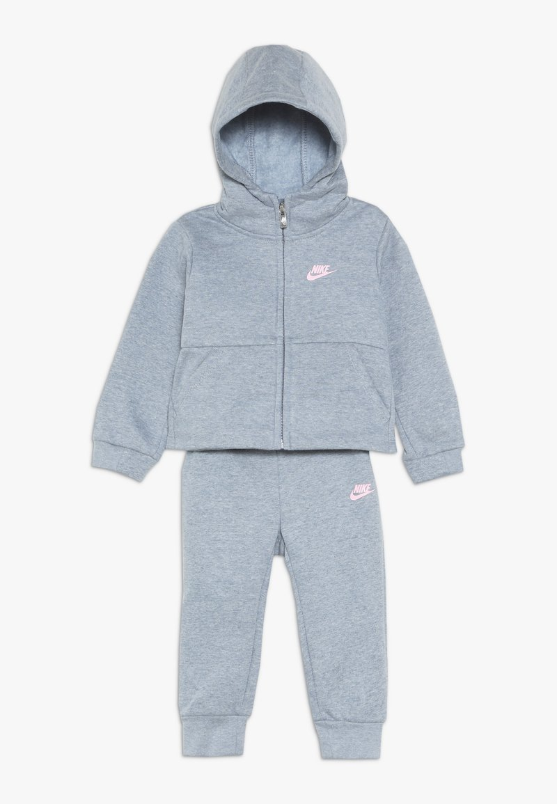 Nike Sportswear - PANT BABY SET - Träningsset - ashen slate heather