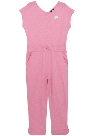 ROMPER - Tuta jumpsuit - magic flamingo/white