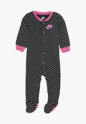 FOOTED COVERALL - Body - black
