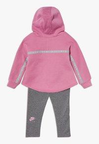 Nike Sportswear - NEW AIR SET - Sweat à capuche - carbon heather - 1
