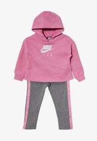 Nike Sportswear - NEW AIR SET - Sweat à capuche - carbon heather - 4