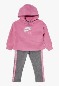 Nike Sportswear - NEW AIR SET - Sweat à capuche - carbon heather - 0