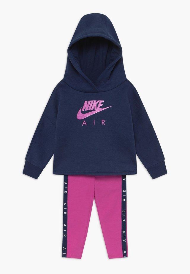 NEW AIR SET - Hoodie - fire pink