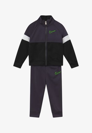 COLOR BLOCK TRICOT BABY SET  - Tracksuit - black