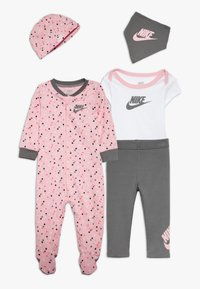 Nike Sportswear - SET BABY - Halsdoek - light pink/smoke grey - 0