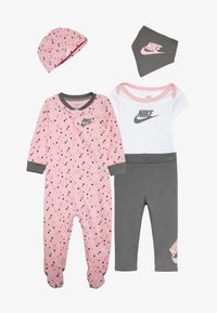 Nike Sportswear - SET BABY - Halsdoek - light pink/smoke grey - 4