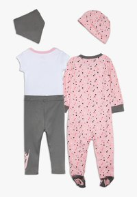 Nike Sportswear - SET BABY - Foulard - light pink/smoke grey