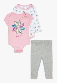 Nike Sportswear - SET BABY - Body - dark grey heather - 0