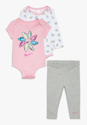 SET BABY - Body - dark grey heather